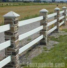 Faux Stone Pillars and Decorative Posts | Add Property Appeal
