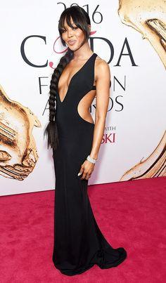 Naomi Campbell at the 2016 CFDA Fashion Awards