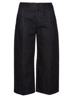 MARNI Denim Culottes. #marni #cloth #culottes
