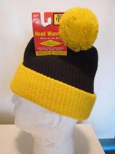 9b5deffc679 VTG 1970 s Deadstock NOS Knit Beanie Cap