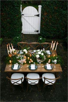 Sherwood forest inspired reception via Weddingchicks.com