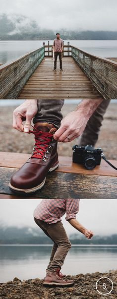 The Classic Alpine design of the Heston boot looks and plays the part with waterproofing and dense tread. Shop now on SHOES.COM.