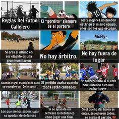 Futbol de Locura: Meme del Día: Reglas del Fútbol callejero #futbolmemes #futbolcallejero #soccermemes