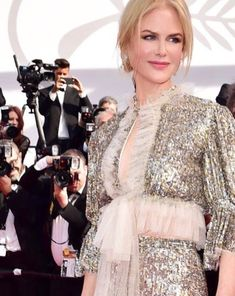 Nicole Kidman Cannes - 2017<br>Via www.lisaeldridge.com