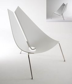 Given the new project of designing a injection moulded, stackable chair i thought it would be appropriate to post some existing chair designs that i would like to draw some inspiration from. The t…