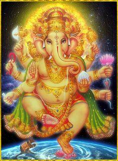 Shri Ganesh! GANESH ॐ Shiva Art, Ganesha Art, Shiva Shakti, Hindu Art, Shri Ganesh Images, Ganesh Chaturthi Images, Ganesha Pictures, Om Gam Ganapataye Namaha, Om Namah Shivaya