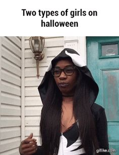 I want to be so many people for Halloween because it's the only day that it's socially acceptable to cosplay