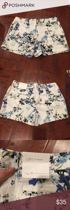 Loft Shorts NWT. Extremely cute! Never worn. Feel free to make an offer. LOFT Shorts