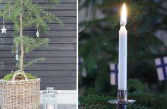 Skandinavisk jul – den vackraste julen är naturligt grön (och vit)