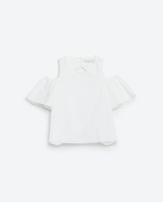 CUT-OFF SHOULDER TOP-View All-TOPS-WOMAN | ZARA United States
