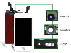 alibaba china For iPhone SE LCD Display LCD Touch Screen Digitizer Assembly for iPhone se Replacement+Camera Holder
