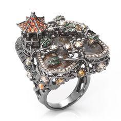 Fantasie Madagascar Diamond Ring