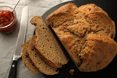 IRISH BROWN SODA BREAD - A quick bread to prepare for your Irish breakfast.