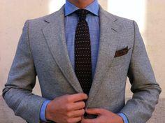 Textures / Cravate / Veste / Couleurs / Pochette / Cravate