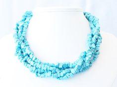 Pretty color #DIY - necklace