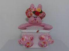 Resultado de imagem para potes de sorvetes decorados com tecidos