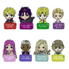 If all of you are having a bad day. Look at this motivation jjba chibi thing! Things will get better soon, don't put yourself down!! :DD