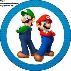 Super Mario Bros: Etiquetas Gratis para Candy Bar.   Ideas y material gratis para fiestas y celebraciones Oh My Fiesta!