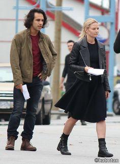 "Jennifer Morrison and Deniz Akdeniz -  6 * 6 "" Dark Waters"" - Behind the scenes - 7 September 2016"