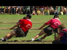 A staple in the early modern Olympics, tug of war made appearances at five consecutive Games from 1900–20. Teams consisted of five to eight ...