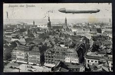 1912 Dresden Germany Zeppelin Real Picture Postcard Cover to Jagerfall | Stamps, Europe, Germany & Colonies | eBay!