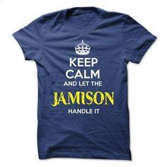 JAMISON KEEP CALM Team - #baseball tee #tee aufbewahrung. ORDER NOW => https://www.sunfrog.com/Valentines/JAMISON-KEEP-CALM-Team-57331930-Guys.html?68278