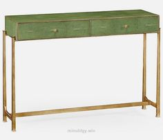 Faux Leather Console  The table I made was inspired by this console.        Tagged:  , home , decor , furniture