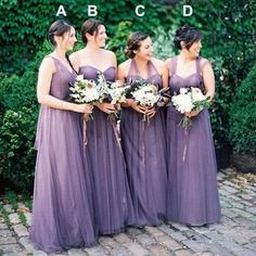 Convertible Bridesmaid Dress,Mismatched Bridesmaid Dresses,Sleeveless Bridesmaid Dresses,Floor-Length Bridesmaid Dresses,Long Bridesmaid Dress,PD00393