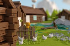 From fishing village to post-industrial city *animation by Kuba Matyka, via Behance