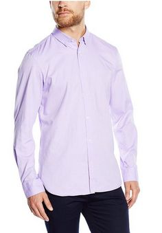 In Lavender color shop for this Mens Extra Long Formal Shirts