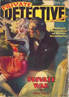 philsp.com February 1939 issue cover art by H.J. Ward Seattle Mystery Bookshop