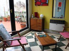 Nora. Casa antigua con jardín y taller al fondo en Caballito, Ciudad de Buenos Aires.