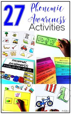 Phonemic awareness activities are an important building block for reading for kindergarten and first grade students! These activities are fun, interactive, engaging, and hands on! Use them during whole group, guided reading, or as intervention activities!