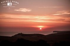 sunset - eastbourne. east sussex