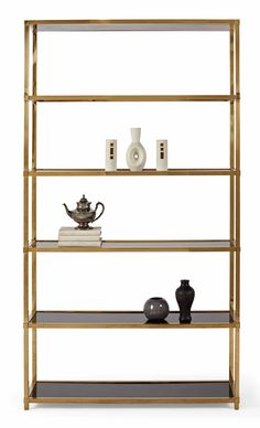 LIBRARY - Bernhardt Interiors Etagere (340-129) by Bernhardt Hospitality