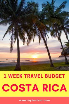 How much a 1 week trip to Costa Rica costs: breakdown of hotels, tours, airfare, car rental and more via @mytanfeet