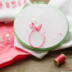 Embroidery Tips, Tricks and Video Tutorials