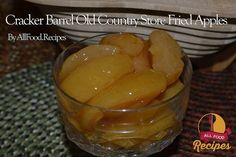 Cracker Barrel Old Country Store Fried Apples I just love the fried apples at Cracker Barrel, Going to Cracker Barrel reminds me of enjoying old-style home cooking, and their fried apples remind me of growing up. This fried apples recipe makes a great side dish for almost any pork recipe (there is just something about pork & apples that just works!) or you can use this recipe in place of canned apple pie filling in my caramel apple cheesecake recipe or would make a great topping for French…