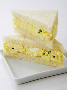 egg salad - full of protein for kids who won't eat meat