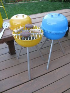 Kindergrill-Tutorial von Never Ever Again - Kinderspiele Projects For Kids, Diy For Kids, Cool Kids, Crafts For Kids, Children Crafts, Baby Crafts, Homemade Toys, Play Food, Cute Diys