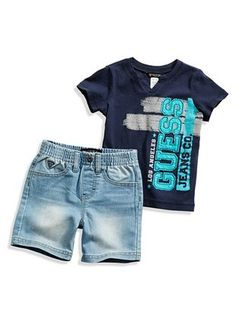 GYV09485M Polo Shirt Outfits, Outfits Niños, Cute Baby Boy Outfits, Boys Summer Outfits, Baby Boy Fashion, Kids Fashion, Short Niña, Kids Suits, Kids Clothes Boys