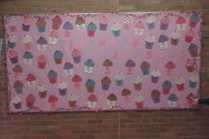 February Birthday Bulletin Board Cupcakes