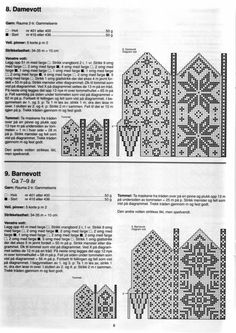 Bilderesultat for selbu charts knitting Knitted Mittens Pattern, Knit Mittens, Knitted Gloves, Knitting Socks, Knitting Charts, Knitting Stitches, Knitting Needles, Knitting Patterns, Norwegian Knitting