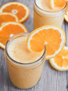 Vegan Orange Julius 14 Smoothies for an Instant Mood Boost Orange Julius, Vegan Smoothies, Juice Smoothie, Smoothie Drinks, Milk Smoothies, Milk Shakes, Vegan Menu, Vegan Recipes, Vitamix Recipes