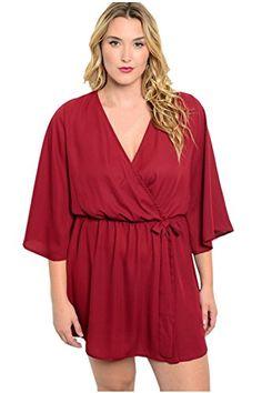 68106912df1 Plus Size Clothing for Women - Loey Lane Plus Size Chiffon Dress (Sizes 14  - - Society+ - Society Plus - Buy Online Now!