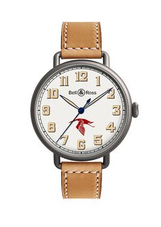 On the occasion of the BaselWorld Bell & Ross released a gorgeous vintage-inspired wristwatch dedicated to a legendary pilot - Georges Guynemer. Bell Ross, Harry Winston, Dream Watches, Luxury Watches, Patek Philippe, Devon, Cartier, Omega, Limited Edition Watches