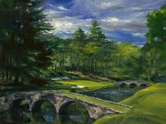 golf course paintings - Google Search