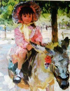 Yury Krotov/1964 İmpressionist  figurative painter