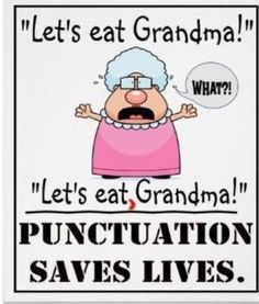 Cute for a punctuation anchor chart!