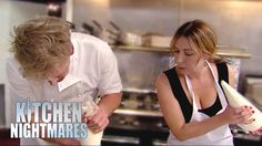 Gordon Gives Tatiana Cooking Lessons - Kitchen Nightmares - Tatiana gets her hands dirty for the first time and makes a great lasagne. If you liked this clip check out the rest of Gordon's channels: Pizza Station, Italian Bistro, Kitchen Nightmares, Chef Gordon Ramsay, Best Meatballs, Going Out, Cooking, Restaurant, Hands